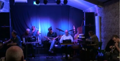 Liverpool: The Blank Canvas Octet Open Session, Nick Branton solo, 21/07/2019