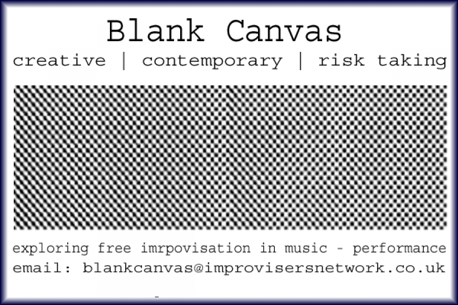 Blank Canvas, the promoter and introduction