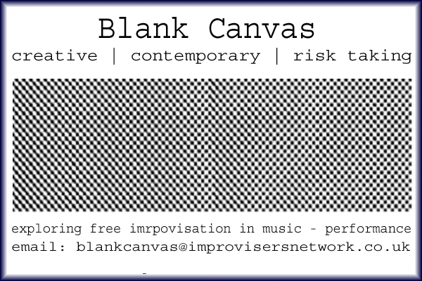 Blank Canvas project team : Open call