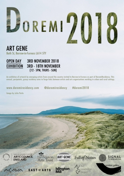 DoremiResidency and exhibition Nov 3rd - 18th