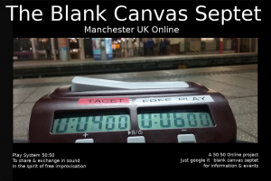 The Blank Canvas Octet - Manchester open call next rehearsal 23.09.2019