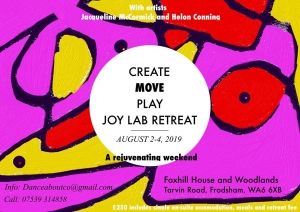 Create, Move, Play: JOY LAB Residential RETREAT August