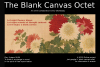 50-50 online project presents the Blank Canvas Octet live on zoom March 2021